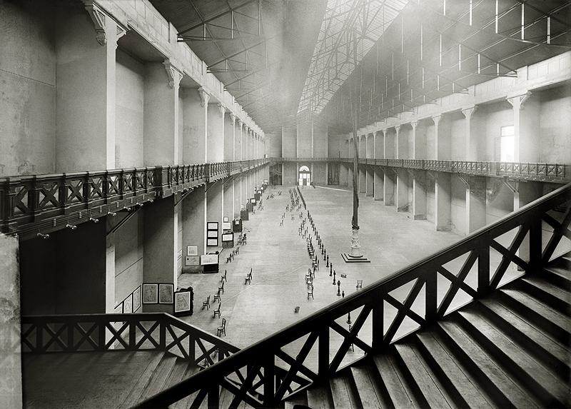 Palacio de la Industria, sede del Museo de Reproducciones Artísticas. Barcelona, 1915-1919 © Brangulí / ANC, 2010
