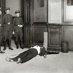 Suicidio en la Banca Arnús. Barcelona, 1934 © Brangulí / ANC, 2010