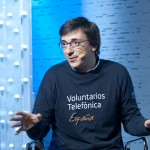 Ricardo Esteban, uno de los 27.000 Voluntarios Telefónica