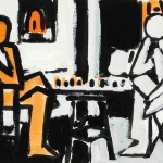 Manolo Quejido. Serie 'Tres elevado a Tres', 1992