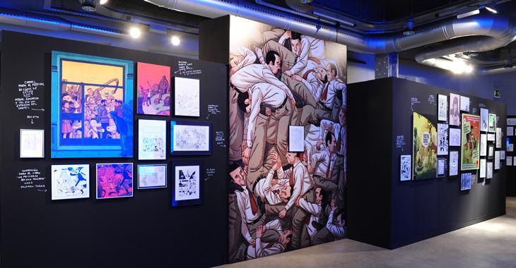 Exposición de Paco Roca en Espacio Fundación Telefónica Madrid