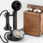 Teléfono de columna. 1924