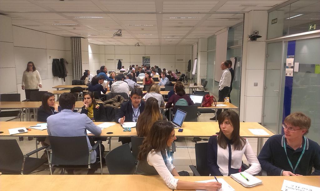 Los jóvenes Think Big en la jornada de consultoría legal de Telefónica España