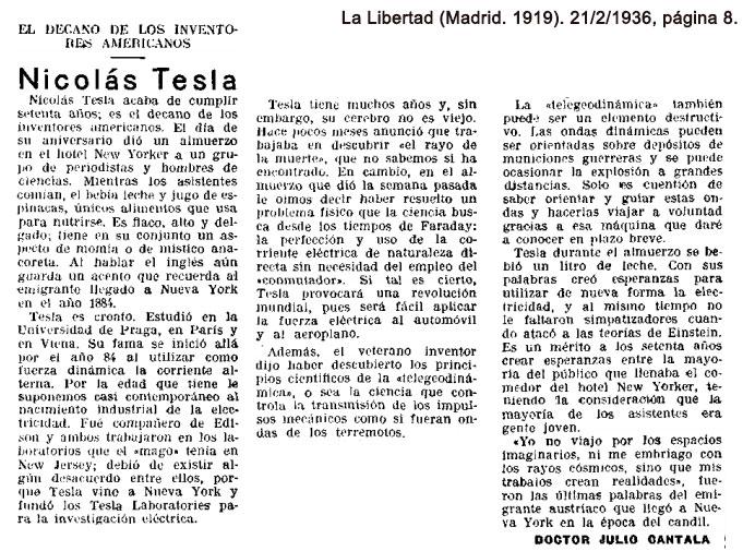 La Libertad (Madrid. 1919). 21/2/1936, página 8