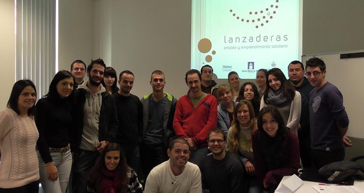 Jóvenes de la Lanzadera de Empleo de Valencia