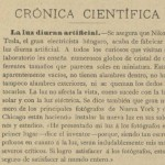 La Energía eléctrica. 1899, n.º 9, pág.6.