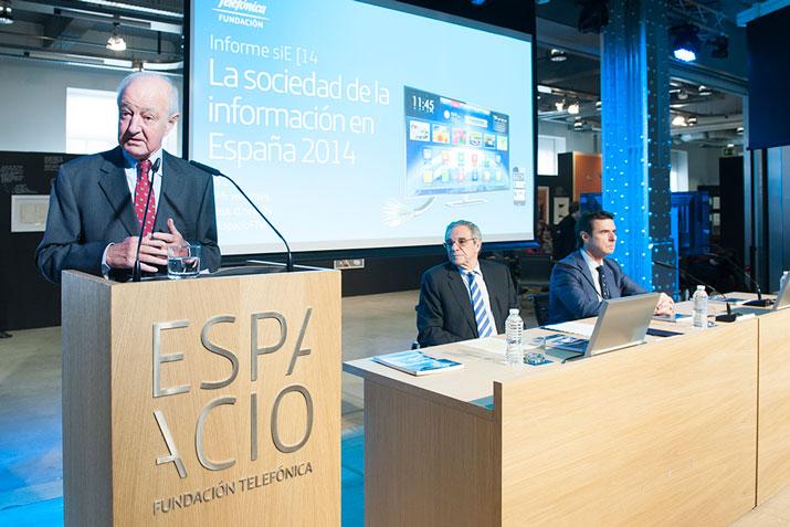 Emilio Gilolmo, vicepresidente ejecutivo de Fundación Telefónica