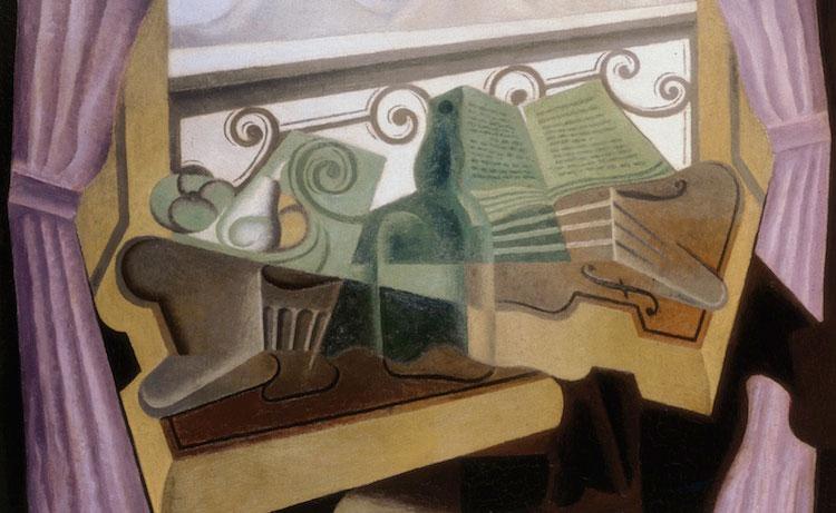 'La fenêtre aux collines', Juan Gris (Colección Cubista de Telefónica)