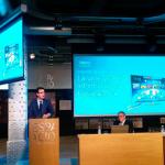 El ministro de Industria, José Manuel Soria, en la presentación del siE[14