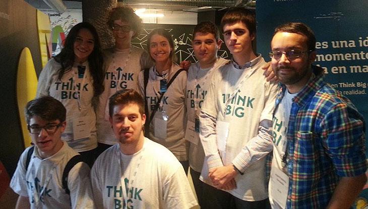 El equipo de emprendedores españoles en el Encuentro Internacional de Emprendedores Sociales