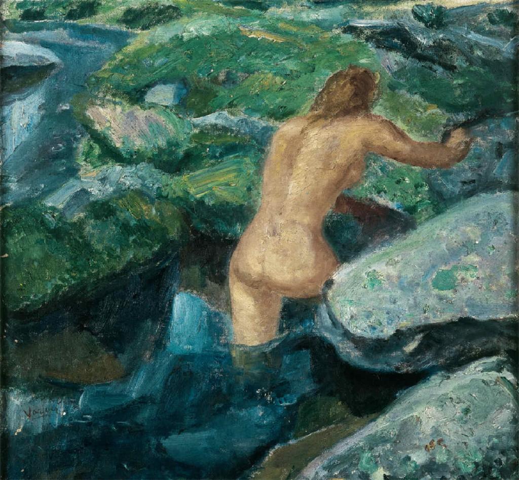 Baño en la Pedriza, de Daniel Vázquez Díaz