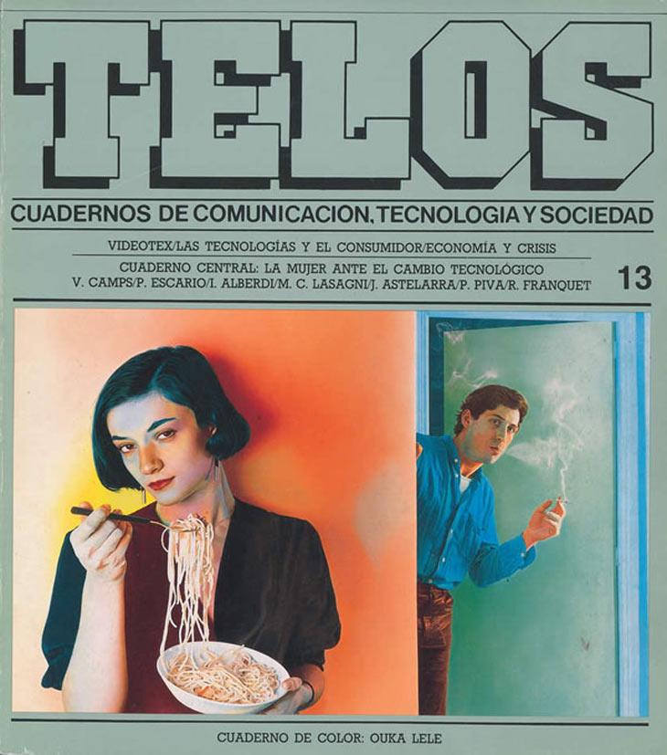 El Cuaderno de Color recoge fotografías y dibujos de Ouka Lele, una de las artistas que en 1988 comenzaba a consagrarse en los circuitos del arte. Además de contar con una mujer artista, este número se dedicó al rol de las mujeres ante el cambio tecnológico, en el que participaron numerosas expertas en género que analizaron el teletrabajo, el hogar tecnológico, la segregación sectorial…, nuevos temas para abordar el nuevo papel de la mujer en la sociedad.