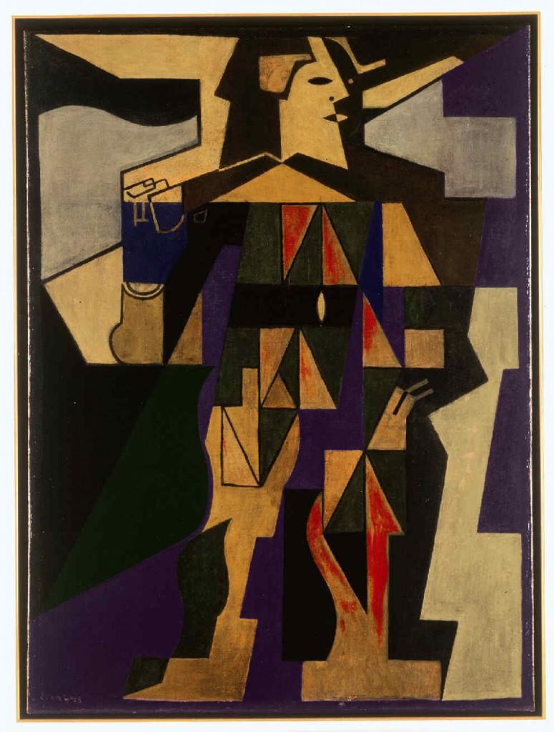 'Arlequin', de Juan Gris