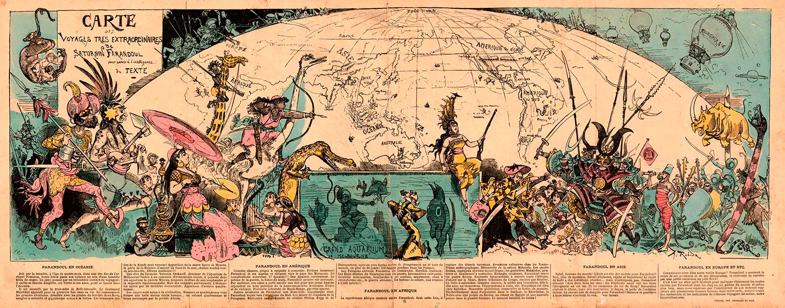 Albert-Robida_Carte-des-Voyages-très-Extraordinaires-Paris-1879