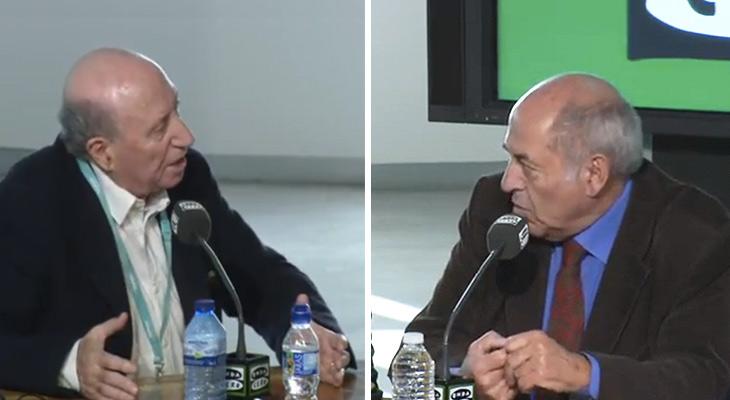 Tertlia sobre educación entre Peridis y José Antonio Marina