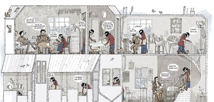 Colección Telefónica: Composición Cubista. Juan Berrio, 2016.