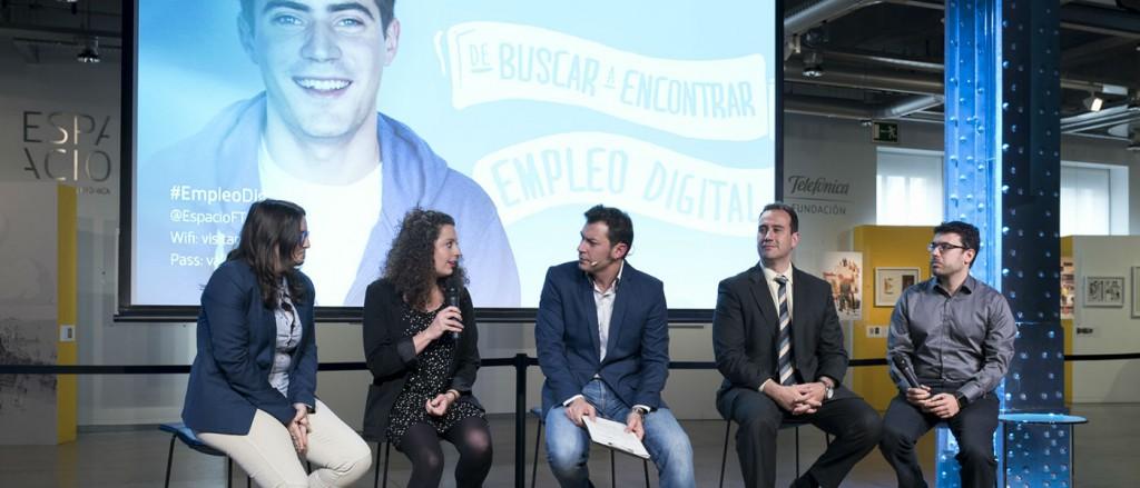 Presentación de 'Empleo Digital' en Espacio Fundación Telefónica
