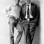 Paul Newman y Lee Marvin en el rodaje de Pocket Money Los indeseables Denver 1971/ ©Terry O'Neill