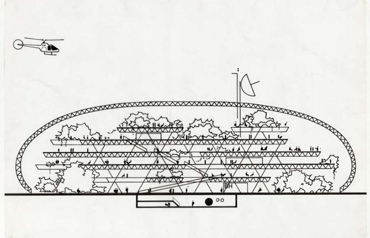 *Climatroffice (1971)_Norman Foster Foundation Archive © Norman Foster Foundation