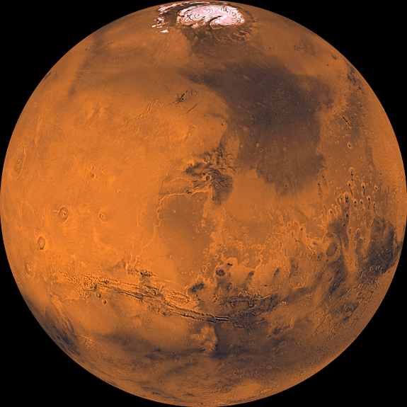 Mars, NASA JPL Malin Space Science Systems, 2006.