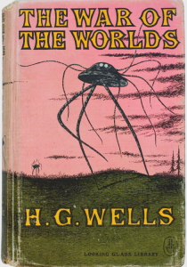 The War of the Worlds – Wells, H.G.; Gorey, Edward (illustrator). Published by Looking Glass LibraryRandom House, New York (1960).