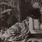 Ida Rubinstein en un estudio fotográfico, c. 1910, interpretando a Zobeida en SchÇhÇrazade. Library of Congress.