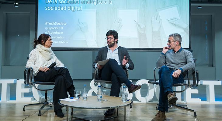 Belén Barreiro: De la sociedad analógica a la sociedad digital
