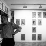 Estudio del pintor Hernán Cortés, colección particular. Foto María Bisbal.