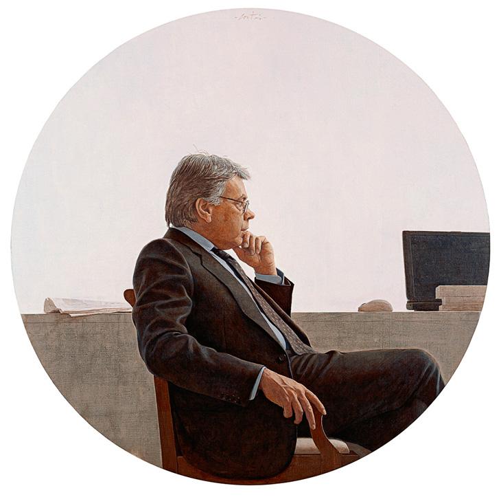 Retrato Felipe González, 1985-2005. Colección particular.
