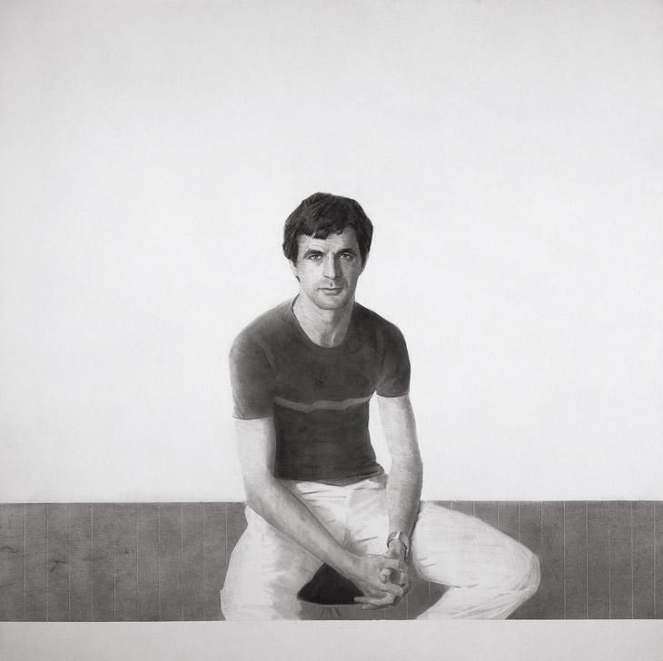 Carlos Solís (tríptico), 1983. Hernán Cortés.