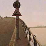 Puente sobre Bahía Cádiz, 1993. Hernán Cortés. Colección particular. Madrid.