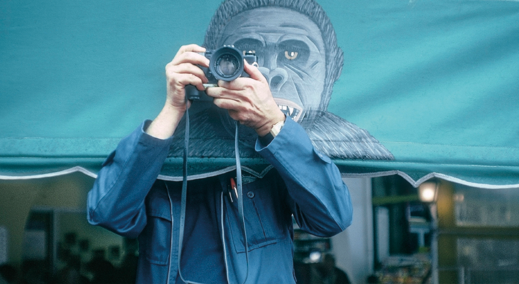 *Créditos foto de portada: France. Saint Tropez. 1979. Elliott Erwitt. Self portrait ©MagnumPhotos