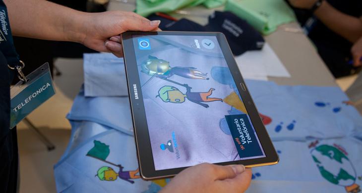 Actividades de realidad virtual y aumentada con niños hospitalizados