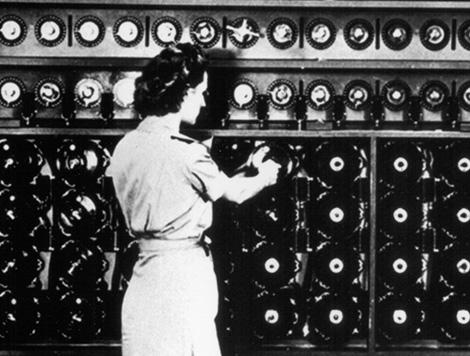 Máquina enigma. Comunicación codificada