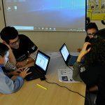 Actividad digital con niños en riesgo de exclusión