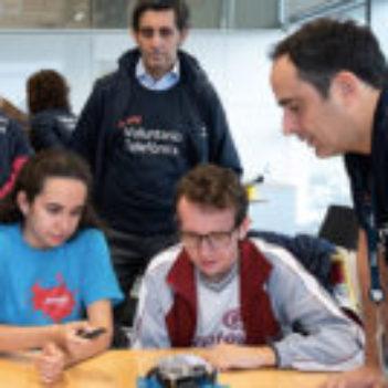 Día Internacional del Voluntario Telefónica 2018: Cuando participas, algo cambia