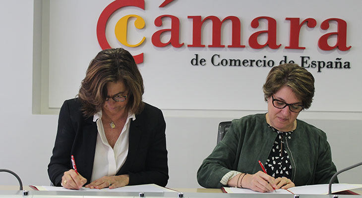 Firma Conecta Empleo con Cámara de Comercio