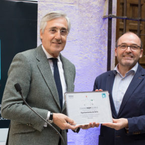 Ávila recibe el diploma de 'Ciudad Mapcesible' por su accesibilidad