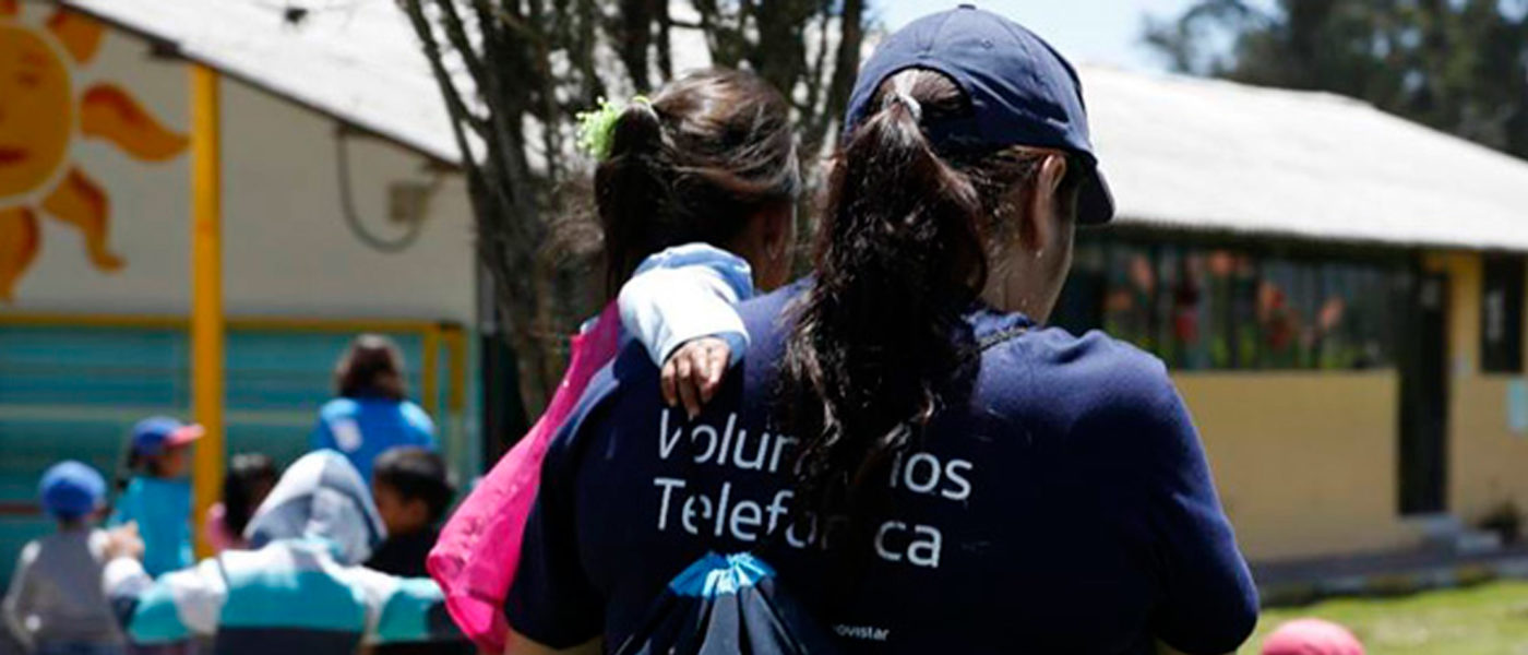 Mujeres que hacen del mundo un sitio mejor: Voluntarias Telefónica