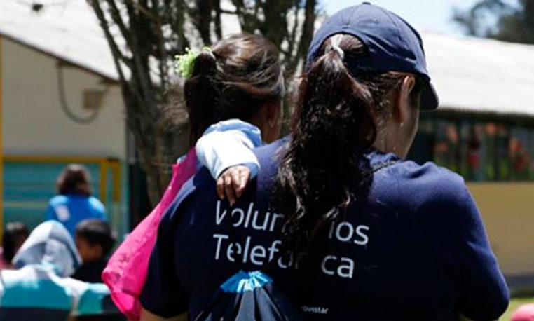 Mujeres que hacen del mundo un lugar mejor: Voluntarias Telefónica