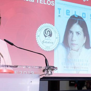 Premios Internet 2019 para Teresa Perales y la revista Telos