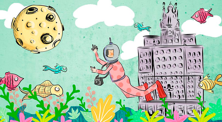 En el verano de 2019, Espacio Fundación Telefónica está Abierto por vacaciones