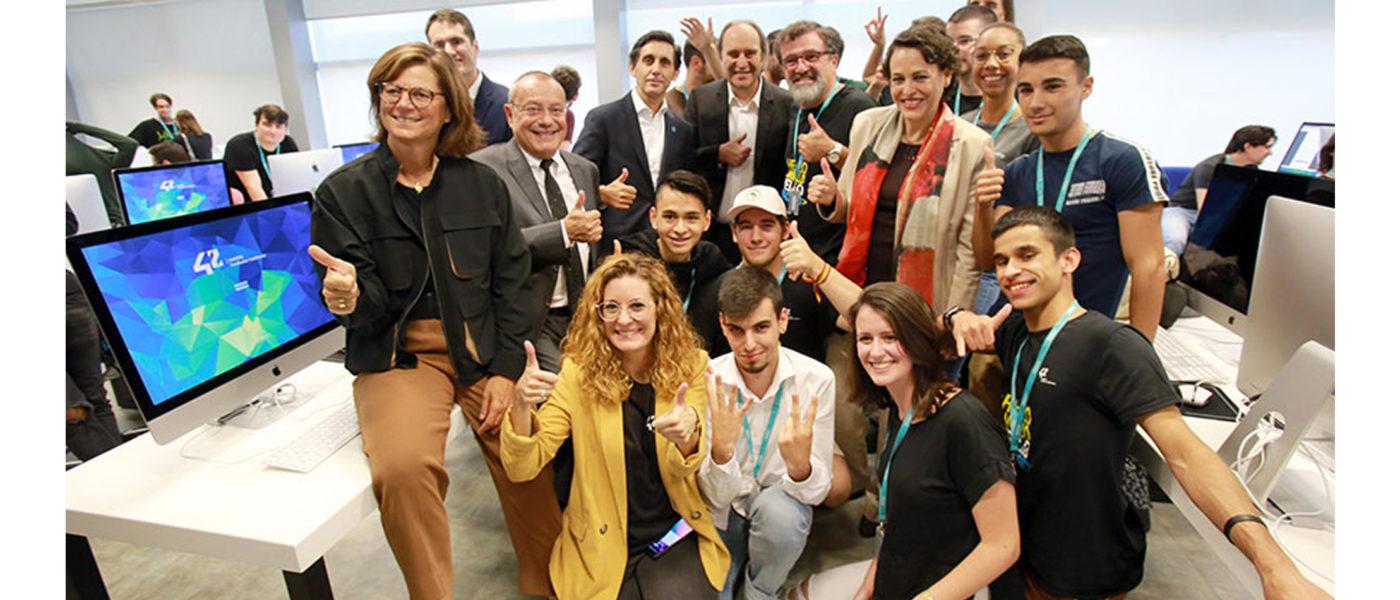 Fundación Telefónica expande el exitoso modelo de '42' a cuatro nuevos campus en Málaga, Valencia, Barcelona y Bizkaia