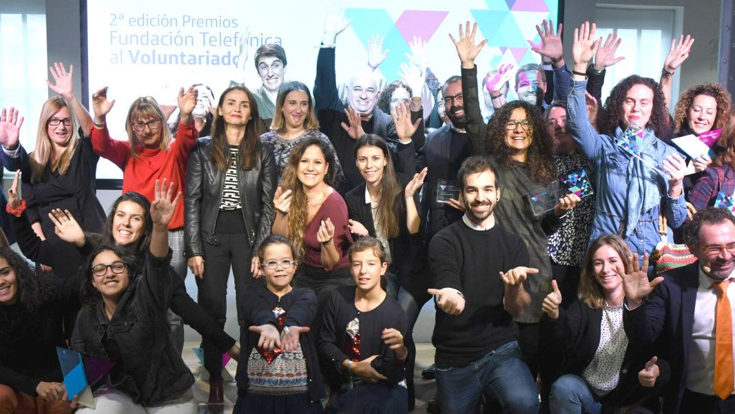 Gala final de la 2ª edición de los Premios Fundación Telefónica al Voluntariado