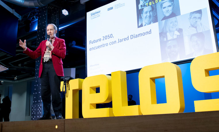 Foro Telos (jornada IV): Futuro 2050, encuentro con Jared Diamond