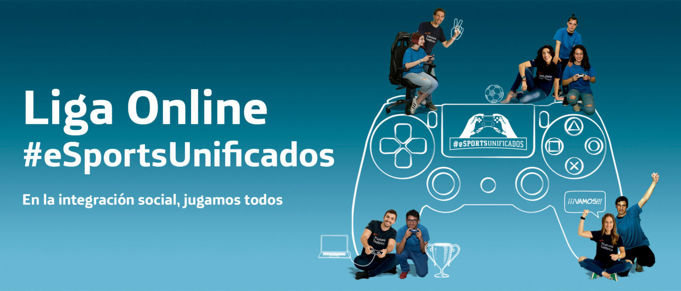 eSportsUnificados, la liga para 'gamers' solidarios