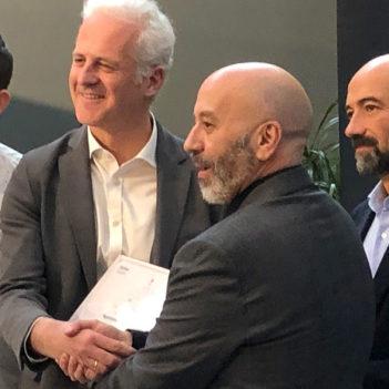 Logroño recibe el diploma de 'Ciudad Mapcesible'
