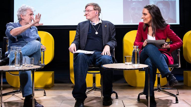 Foro Telos (jornada II): Anders Sandberg y Juan Luis Arsuaga