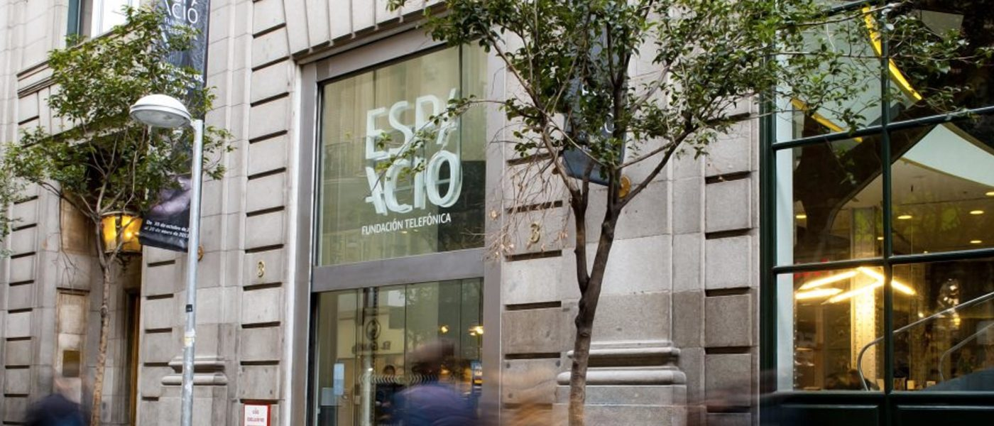 Espacio Fundación Telefónica Madrid permanecerá cerrado temporalmente