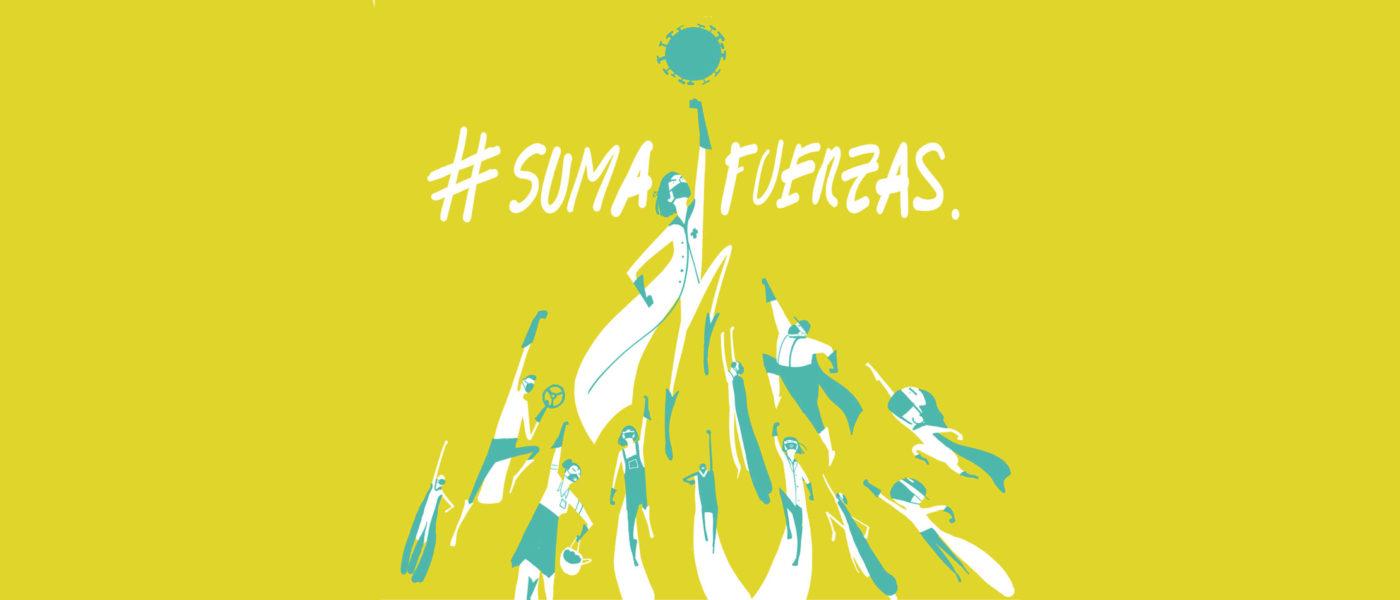 #SumaFuerzas: la iniciativa que une a personas y entidades ante la emergencia sanitaria